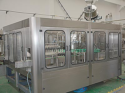 Glass Bottle Filling Production Line